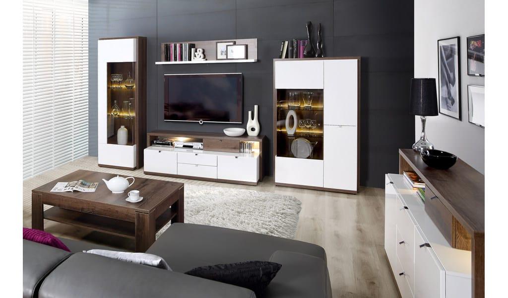 Колекція меблів у вітальню чи їдальню Alcano. Виробник - фабрика Forte Meble (Меблі Форте) Польща