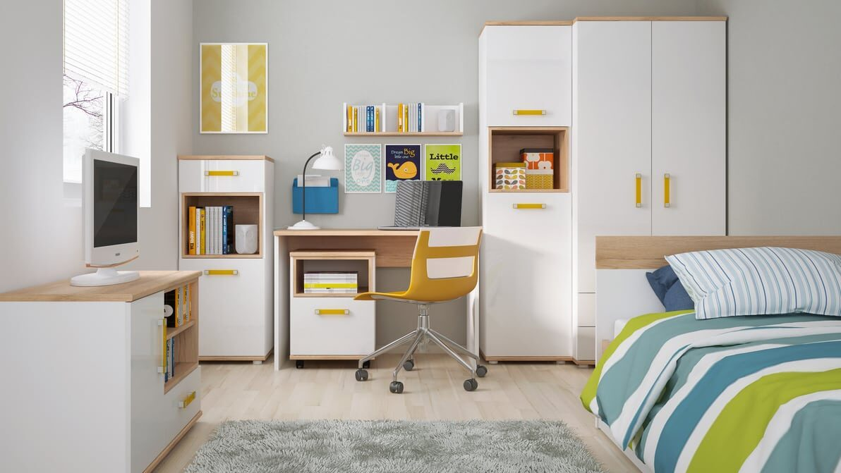 Меблі Amazon Wojcik в інтер'єрі дитячої кімнати