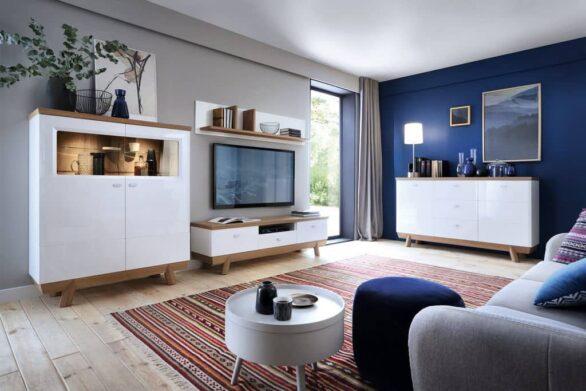 Меблі для сучасної вітальні. Колекція Aspen. Польща. Фабрика Таранко