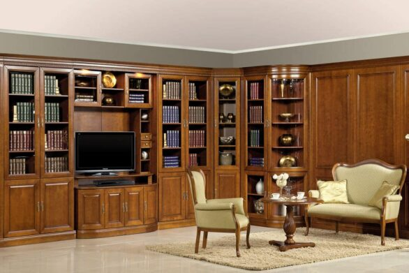 Меблі для кабінету в класичному стилі - Barcelona. Meble Taranko