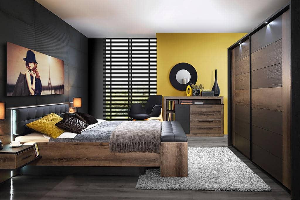 Меблі Forte. Комплект меблів для спальні Бельвью