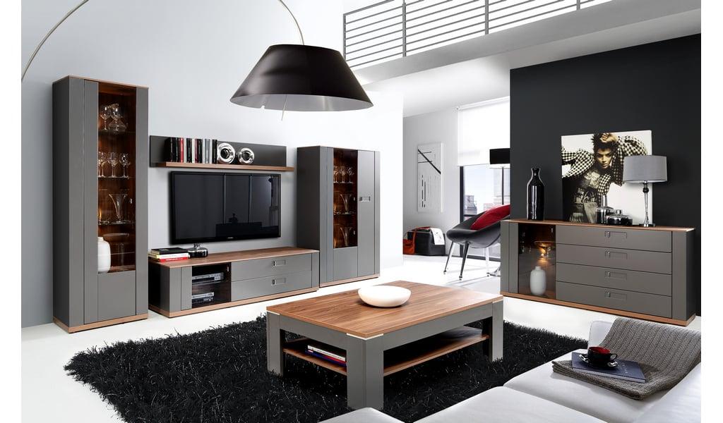 Колекція меблів для вітальні Burgos. Виробник - фабрика Forte Meble (Меблі Форте) Польща