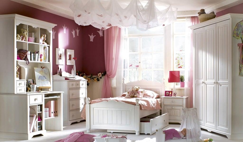 Колекція меблів в дитячу Cinderela Premium. Виробник - фабрика Bydgoskie meble (Бидгошські меблі) Польща