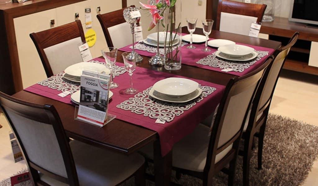 Колекція меблів у вітальню чи їдальню Foggia. Виробник - Польща