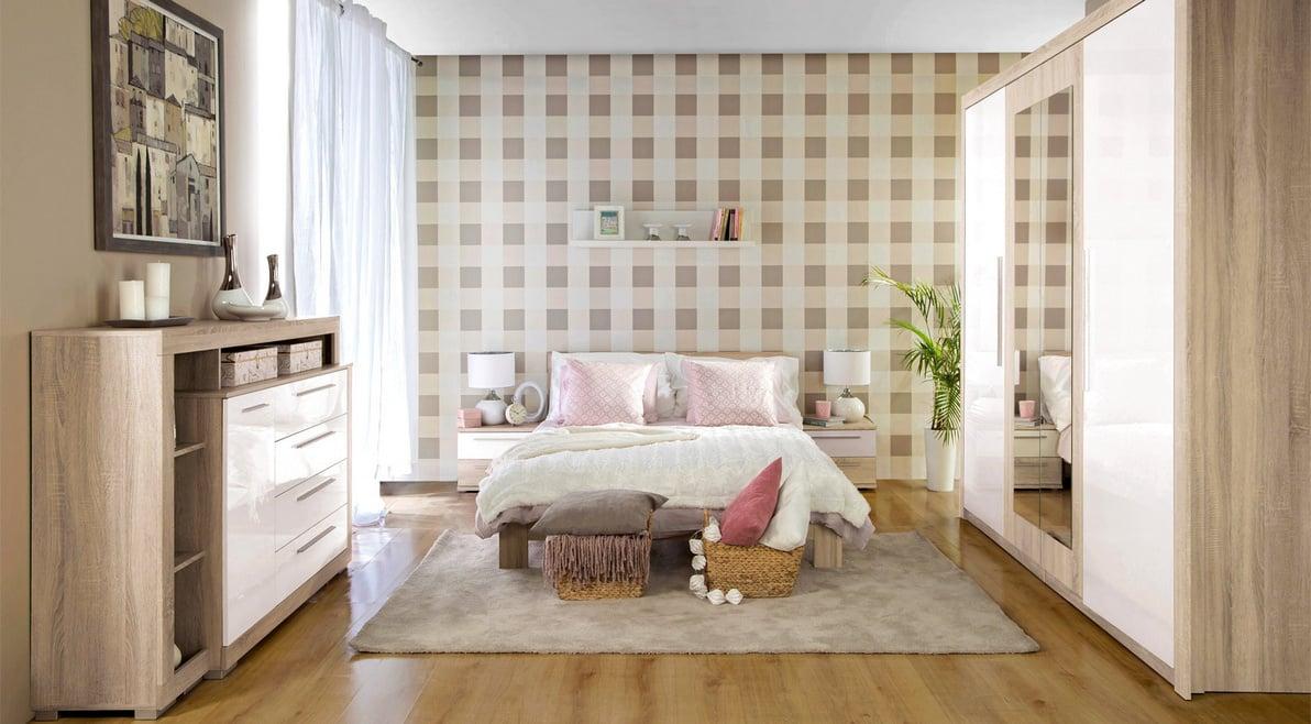 Спальня Julietta меблі Форте - фото в інтер'єрі