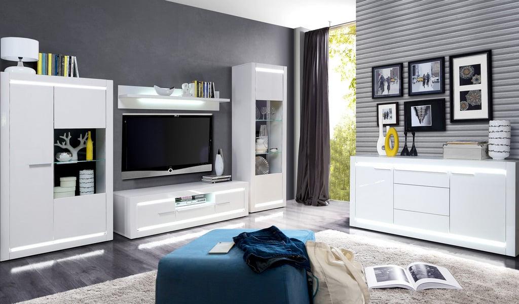 Колекція меблів у вітальню L-Light. Виробник - фабрика Forte Meble (Меблі Форте) Польща