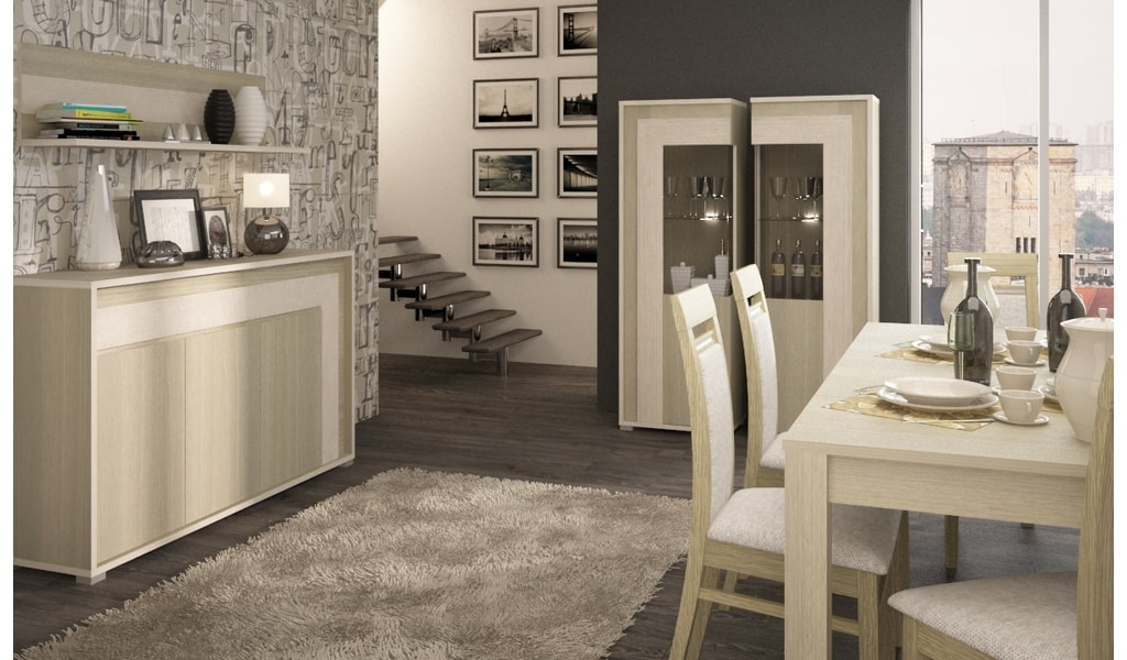 Колекція меблів для вітальні Lario. Виробник - фабрика MebleWojcik (Войчик) Польща