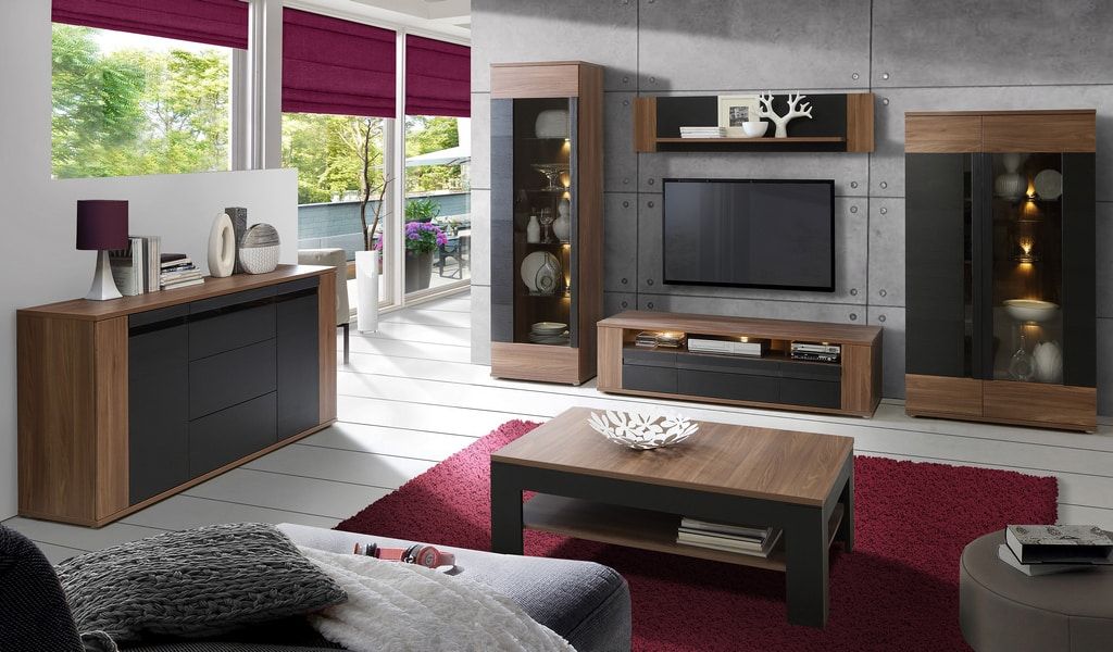 Колекція меблів для вітальні Latina. Виробник - фабрика Forte Meble (Меблі Форте) Польща
