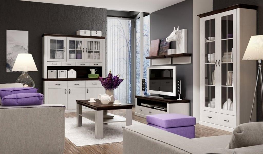 Колекція меблів для вітальні Lawenda. Виробник - Польща