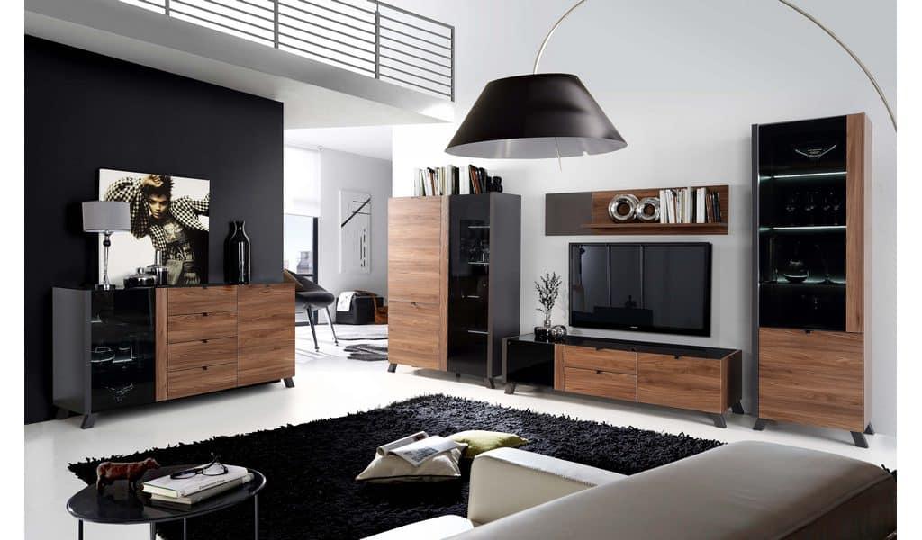 Колекція меблів для вітальні Liguria. Виробник - фабрика Forte Meble (Меблі Форте) Польща