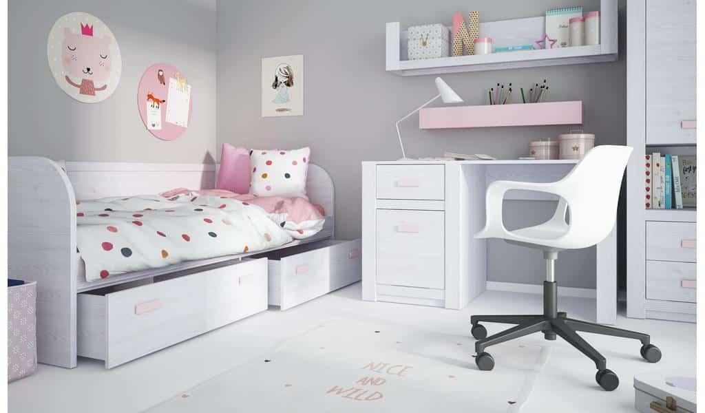 Колекція меблів в дитячу Lilo. Виробник - фабрика MebleWojcik (Войчик) Польща
