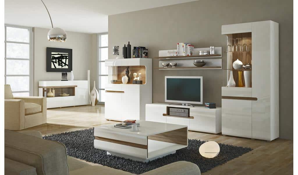Колекція меблів для вітальні Linate. Виробник - фабрика MebleWojcik (Войчик) Польща