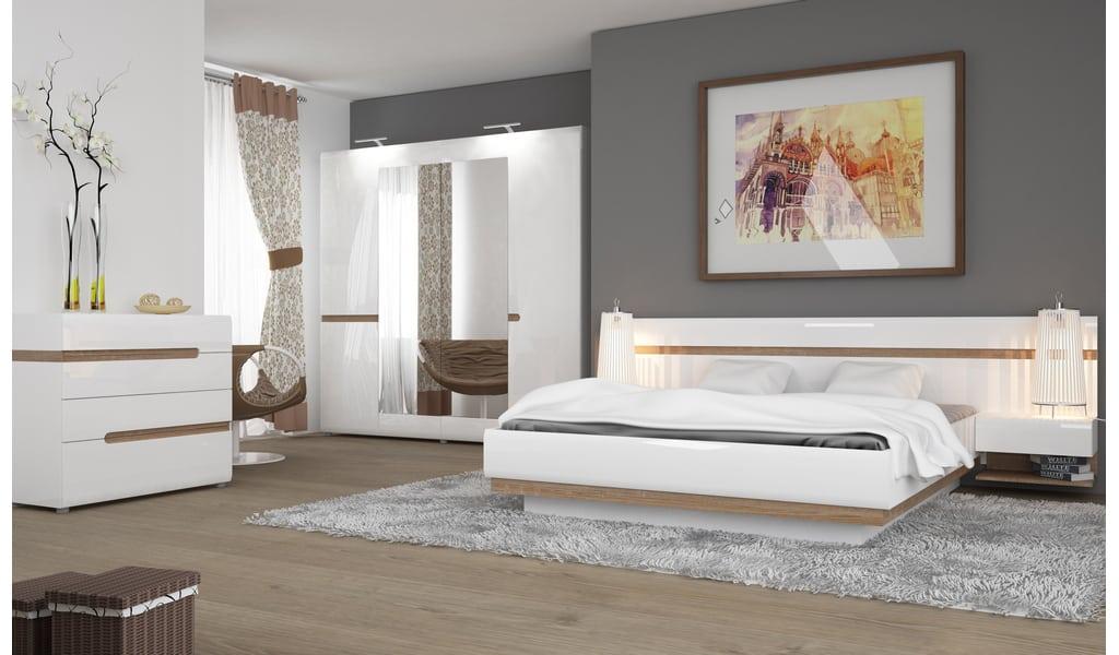 Колекція меблів для спальні Linate. Виробник - фабрика MebleWojcik (Войчик) Польща