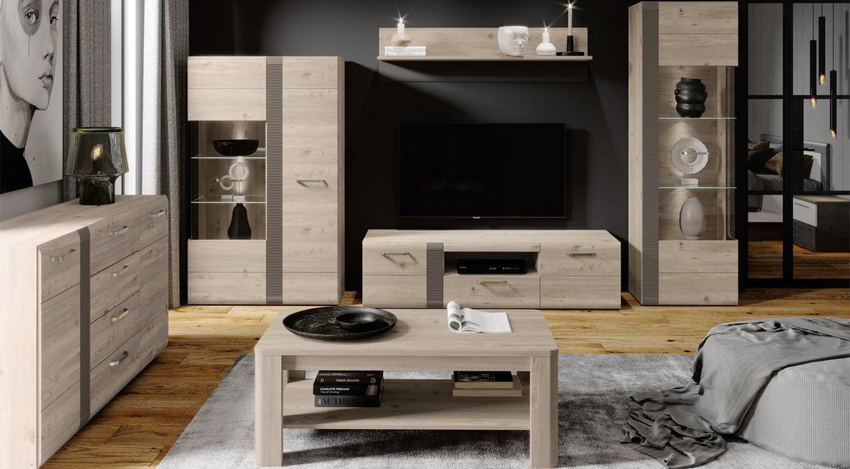 Меблі для вітальні Locarno Локарно - фото в інтер'єрі. Меблі Форте в Україні