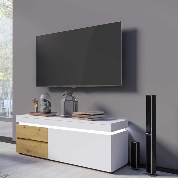Luci LCCF02-w Тумба RTV 1d2s купити - 1 » Агата Меблі