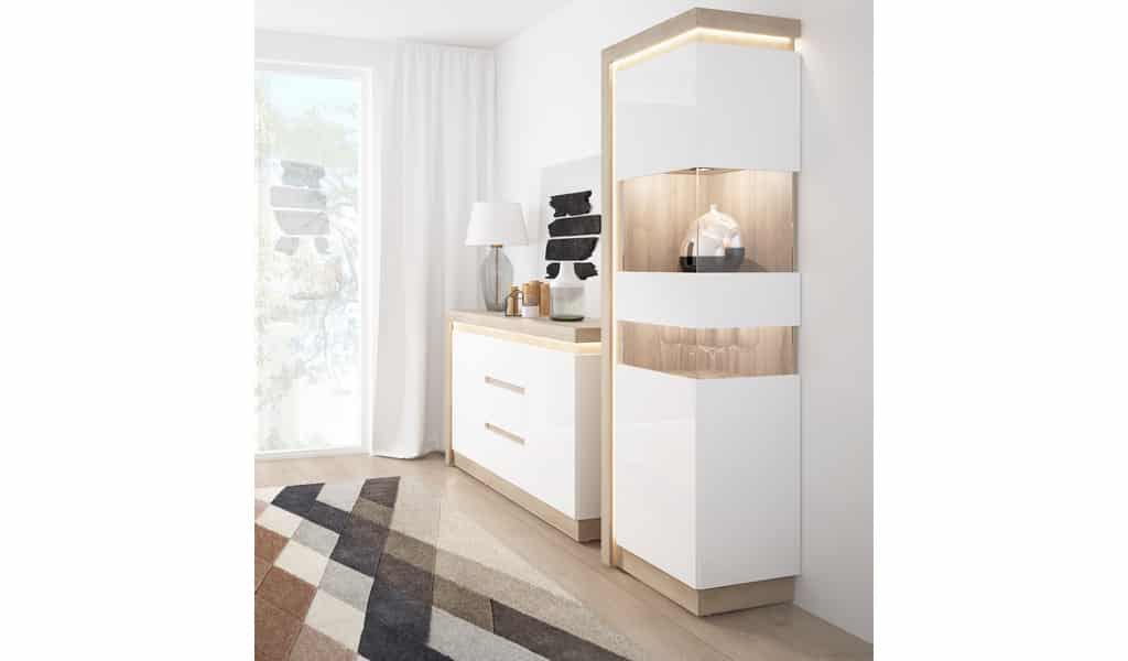 Колекція меблів для вітальні Lyon. Виробник - фабрика MebleWojcik (Войчик) Польща