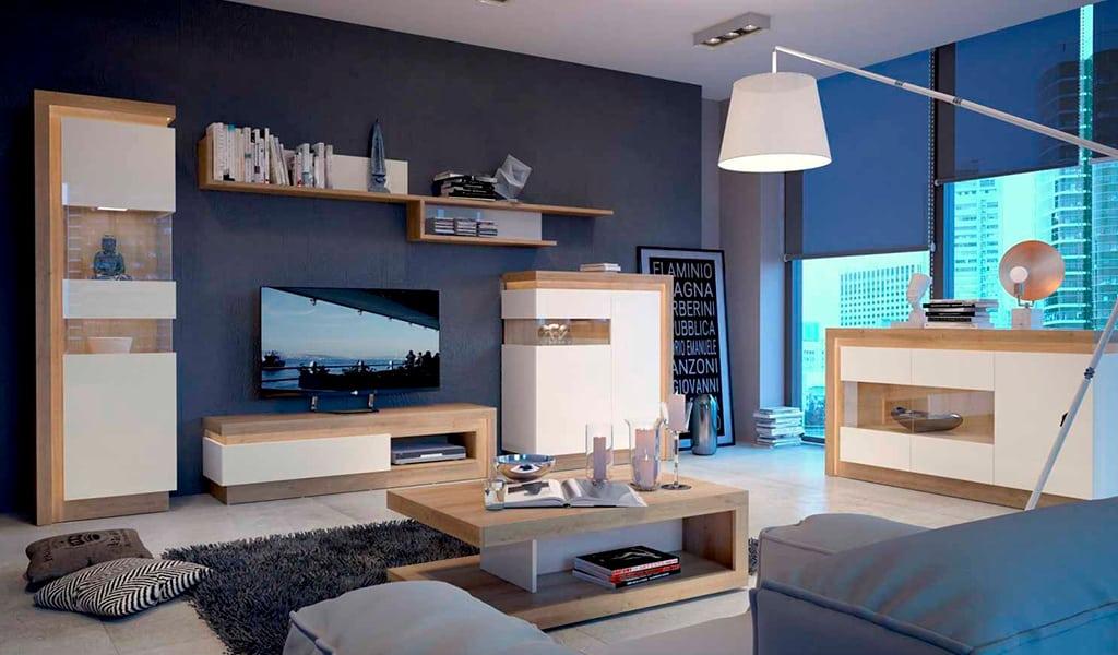 Колекція меблів для вітальні Lyon (Ліон) виробництва польської меблевої компанії MebleWojcik