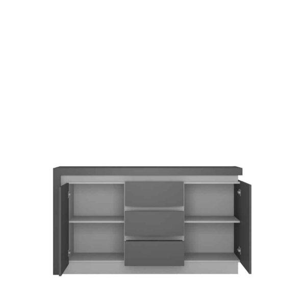 Lyon Platinum Lyok01 Комод 2d-3s - 1 » Агата Меблі