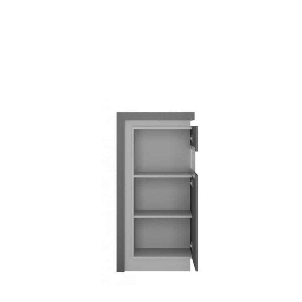 Lyon Platinum Lyov02 P Вітрина Низька 1d Права - 1 » Агата Меблі