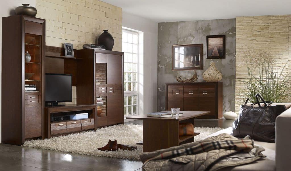 Колекція меблів для вітальні Paris. Виробник - Польща