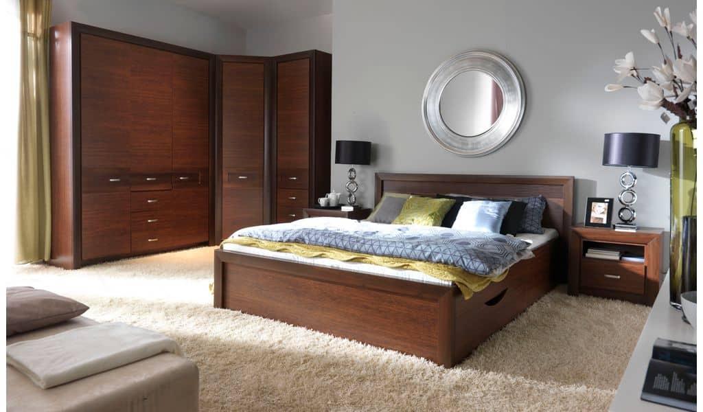 Колекція меблів для спальні Paris. Виробник - Польща