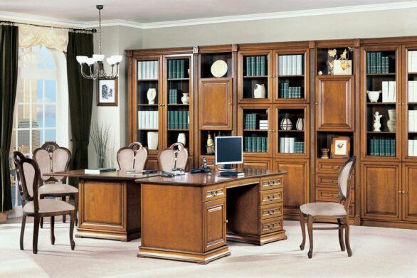 Меблі для кабінету Senator. Фабрика Таранко Польща