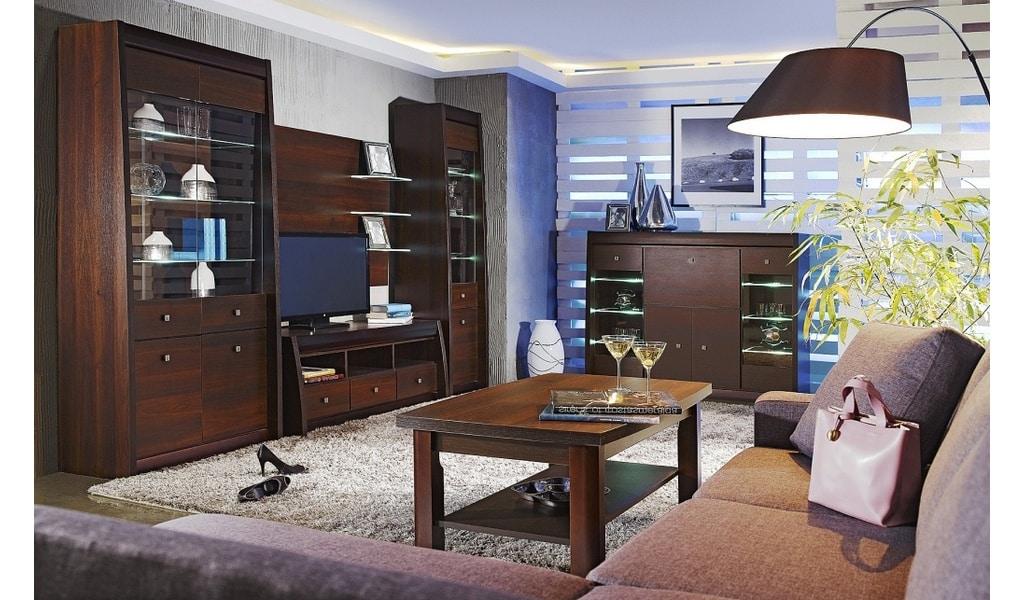 Колекція меблів для вітальні Sewilla. Виробник - Польща