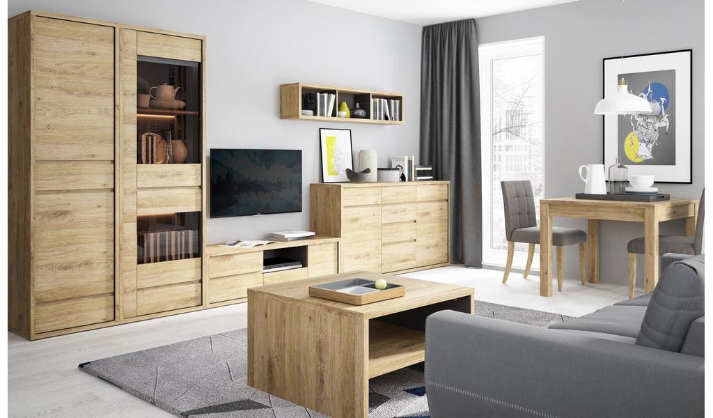 Колекція меблів для вітальні Shetland. Виробник - фабрика MebleWojcik (Войчик) Польща