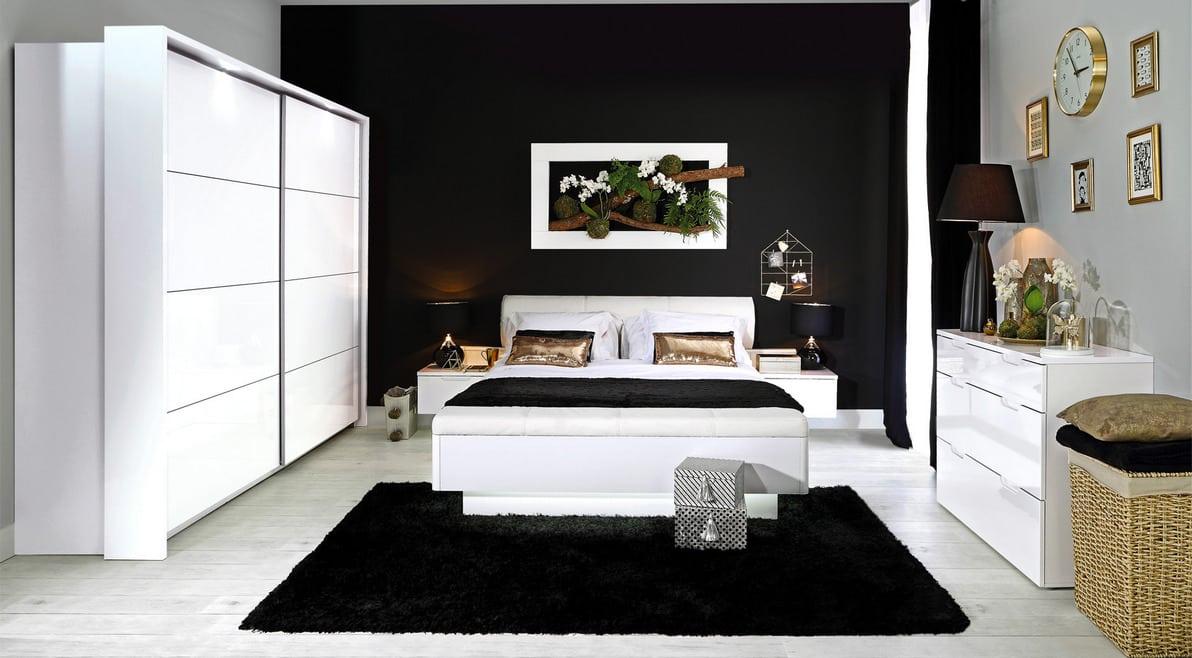 Спальня Старлет Вайт фото. Меблі Форте в Україні