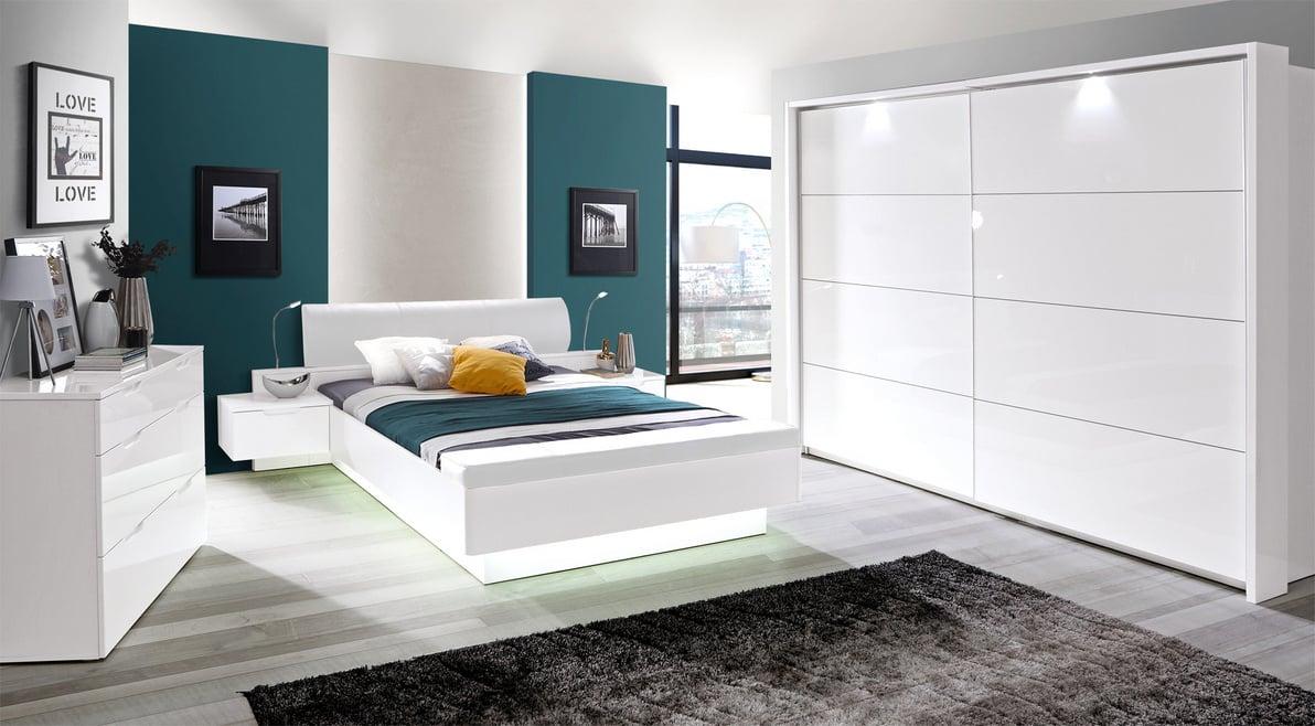 Starlet White фото спальні в інтер'рі