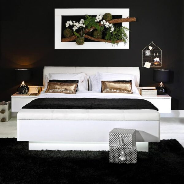 Starlet White STWL163 Ліжко - 3 » Агата Меблі
