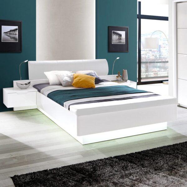 Starlet White STWL163 Ліжко - 2 » Агата Меблі