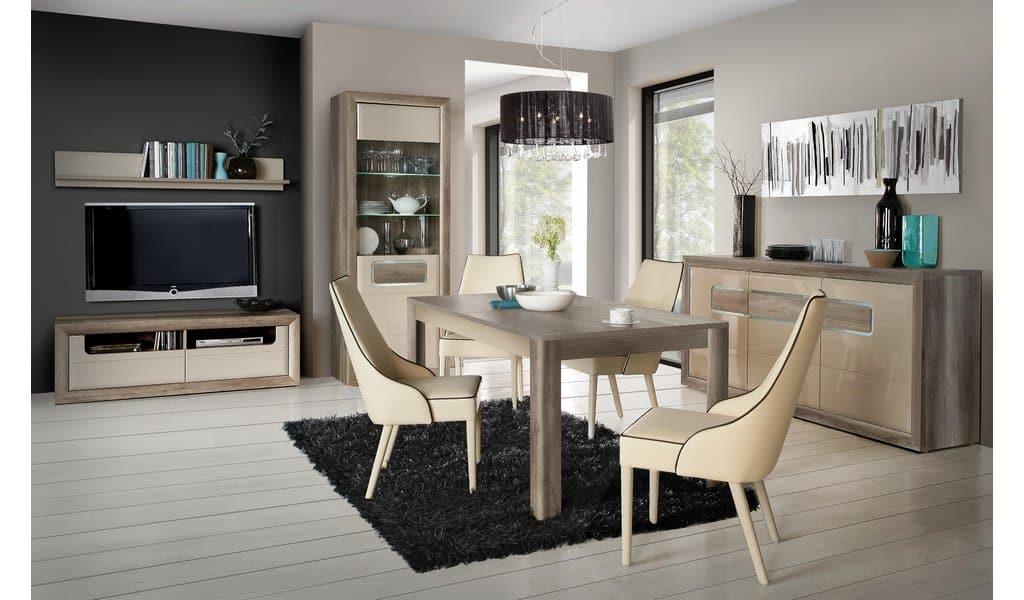 Колекція меблів у вітальню чи їдальню Tiziano. Виробник - фабрика Forte Meble (Меблі Форте) Польща