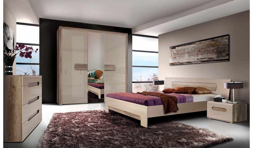 Колекція меблів для спальні Tiziano. Виробник - фабрика Forte Meble (Меблі Форте) Польща