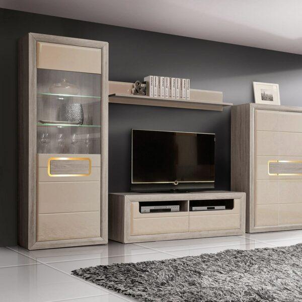 Тумба RTV Tiziano tzt12 з колекції меблів Тіціано. Польща. Фабрика Меблі Форте