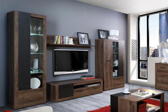 Меблі для сучасної вітальні. Колекція Трасс. Forte Meble. Польща