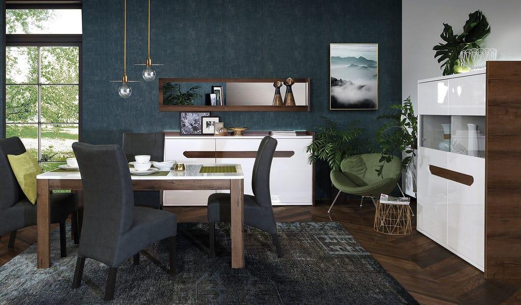 Колекція меблів у вітальню чи їдальню Urano. Виробник - фабрика Forte Meble (Меблі Форте) Польща