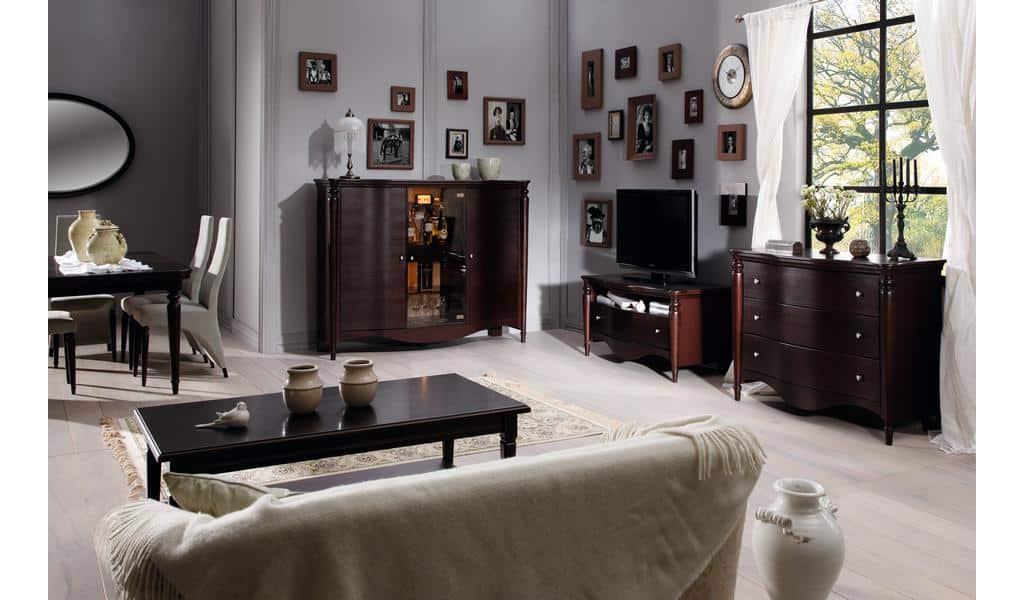 Колекція меблів для вітальні Villa. Виробник - фабрика Bydgoskie meble (Бидгошські меблі) Польща